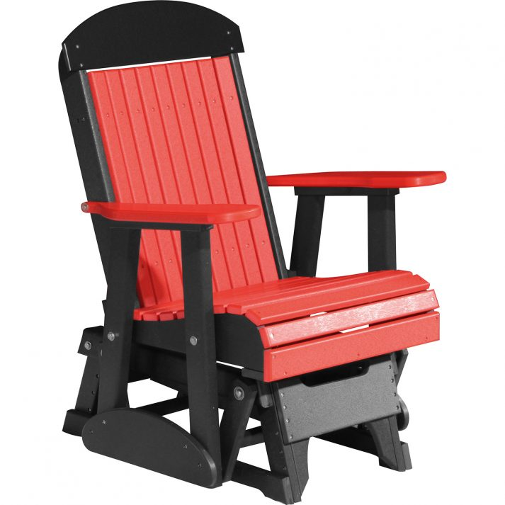 2CPGRB 2ft Classic Poly Glider Red Black