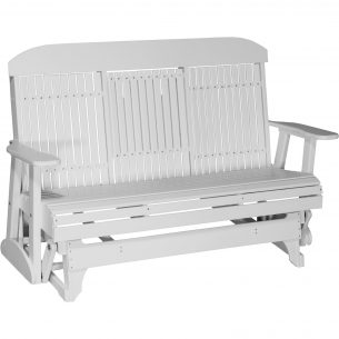 5CPGW 5ft Classic Poly Glider White 2