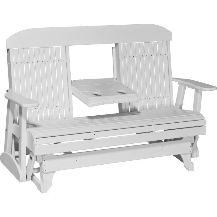 5CPGW 5ft Classic Poly Glider White