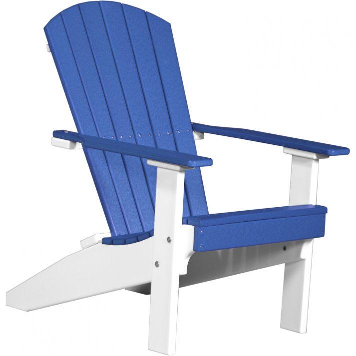 LACBW Lakeside Adirondack Chair Blue White