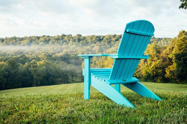Lakeside Adirondack Chair Aruba Blue 2
