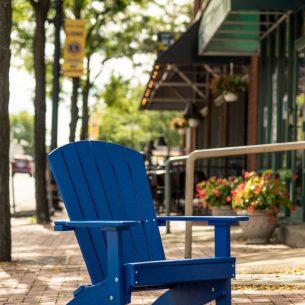 Lakeside Adirondack Chair Blue scaled