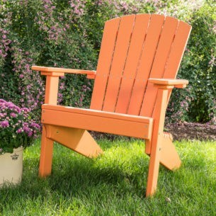 Lakeside Adirondack Chair Tangerine
