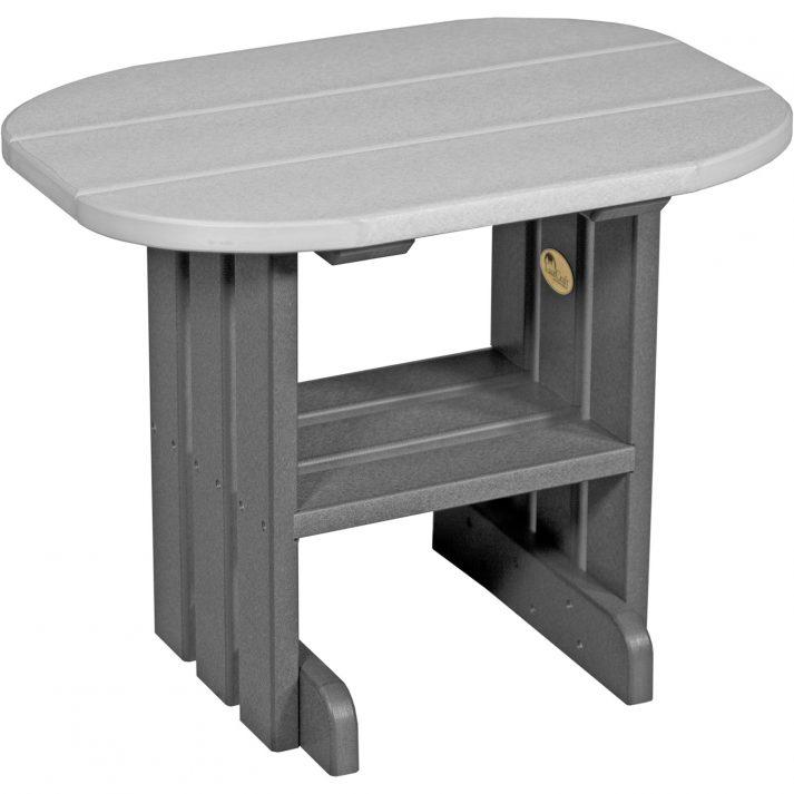 PETDGS Poly End Table Dove Gray Slate