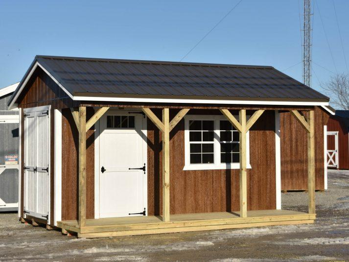 mini barn with porch