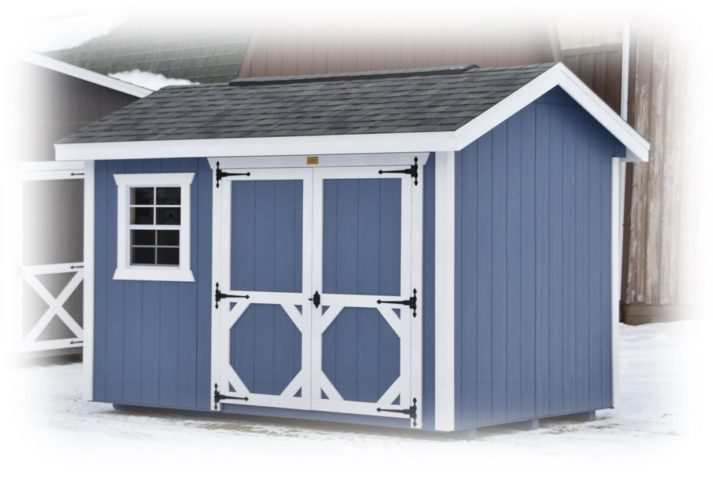 Signature Gable 8x12 Distance with White Trim